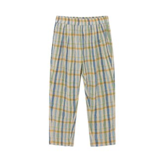 【Last one! 6-7Y】Checker Baggy Trousers