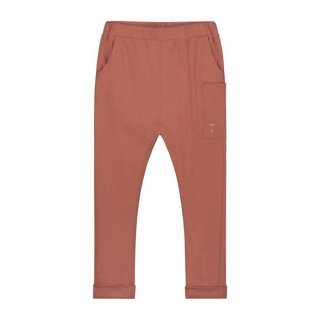 Pocket Trousers Faded Red - kids 2-3・7-8Y