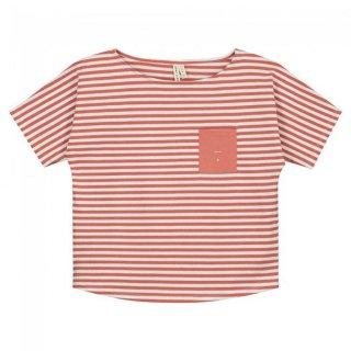 Pocket Tee Faded Red - kids 3Y-6Y
