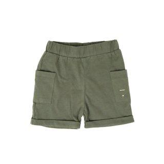 Pocket Shorts Moss - baby  12-24m