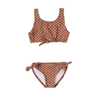 Flower power knotted bikini 2Y-7Y