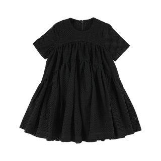Dress Broderie Black  3Y-6Y
