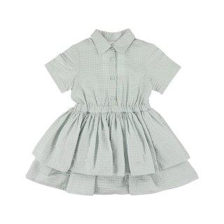 Dress Square Blue 3Y-6Y