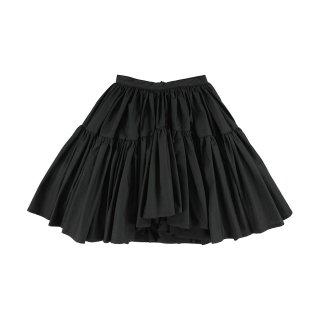 Wide Skirt Black 3Y-4Y