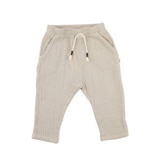Trousers Sena Organic - Stone 9-24m