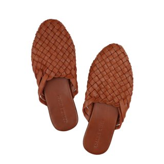 For Women - Woven Mule  Summer Tan