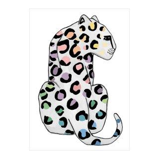 Leopard SPOTS Rainbow Children's Print