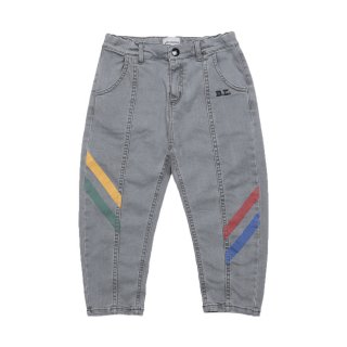 Multicolor Denim Trousers 2Y-7Y