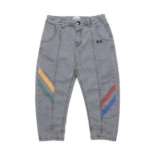 Multicolor Denim Trousers 2Y-7Y