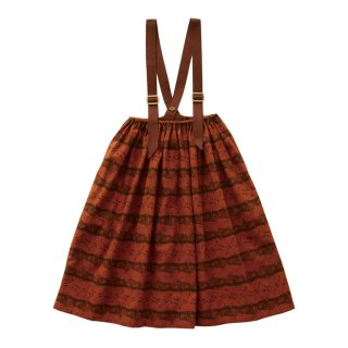 Castle printed skirt  Brick red 90-130