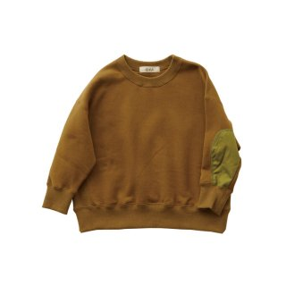 【Last one! 110】Big sweat shirts Olive