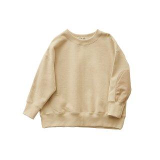 Big sweat shirts Ecru 100-130