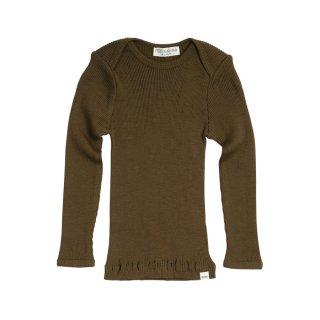 Aspen wool rib tops Moss 6m-24m