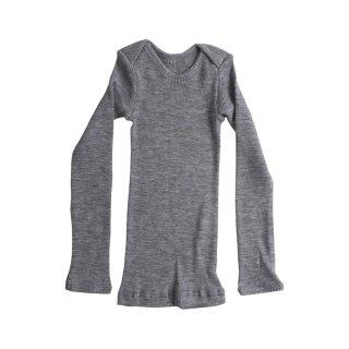 Aspen wool rib tops Grey melange 6m-24m