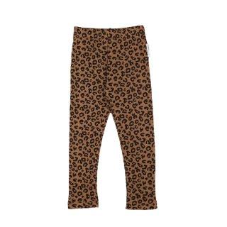 【Last one! 8Y】Chocolate Leopard Leggings