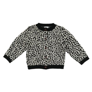 Snow Leopard Cardigan 4-8y