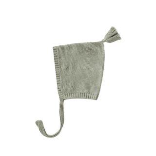 【Last one! 3-6m】Knit Pixie Bonnet sage