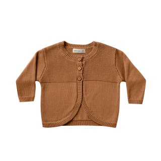【Last one! 2-3y】Knit Cardigan Walnut