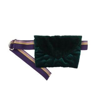 Velvet Bag Green