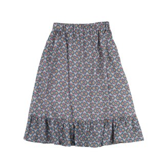 Viscose Skirt Sage Grey 4Y-10Y