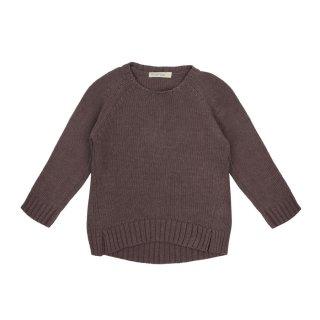 Cashmere blend sweater lavender 2-6Y
