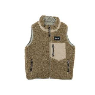 Reversible vest L.gray x Beige 100-130