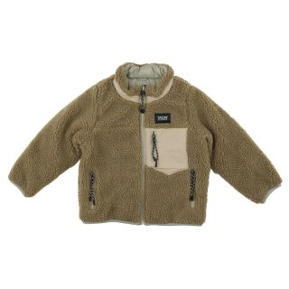 Reversible Jacket L.gray x Beige 100-130