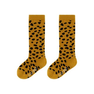 Mia knee socks faded gold 1Y-6Y