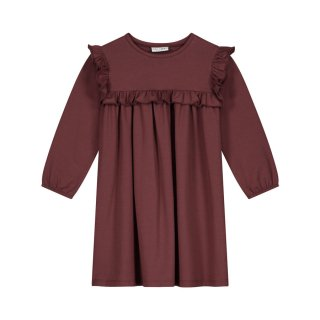 Olivia dress carben red 2Y-8Y