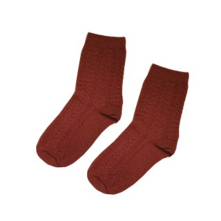 Socks Anna dusty brick 2y-6y