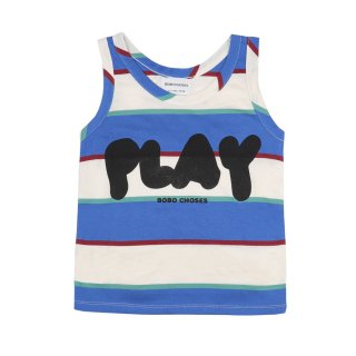 <img class='new_mark_img1' src='https://img.shop-pro.jp/img/new/icons1.gif' style='border:none;display:inline;margin:0px;padding:0px;width:auto;' />【Coming soon】Play Stripe Tank Top 2y-7y