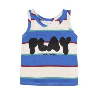 Play Stripe Tank Top 2y-7y