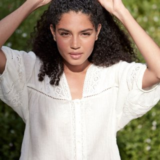 Blouse Amara Off-White - Women