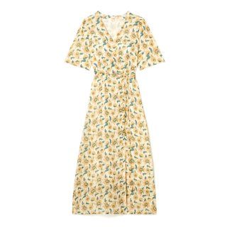 Dress Steria Cream Flowers - Women