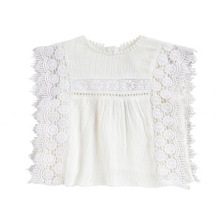 Blouse Adolio Off-White 12m-8Y