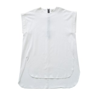ULTIMA jarsey long tops white - Women