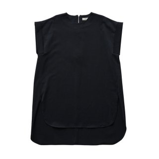 ULTIMA jarsey long tops black - Women