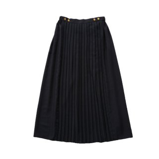 Front pleats skirt - Women