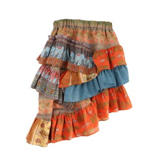 <img class='new_mark_img1' src='https://img.shop-pro.jp/img/new/icons1.gif' style='border:none;display:inline;margin:0px;padding:0px;width:auto;' />Indian Cotton Asymmetry Skirt  90-120