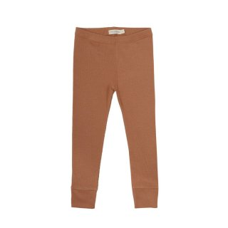 Rib Leggings terra 6m-6Y