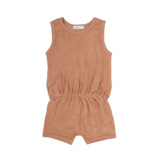 Frotte playsuit warm biscuit 6m-2Y