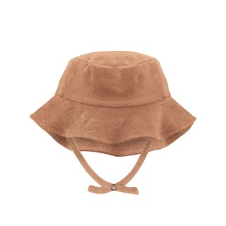 Frotte sun hat warm biscuit