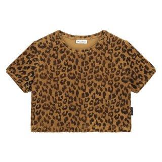 Leopard towel t-shirt 6m-8Y