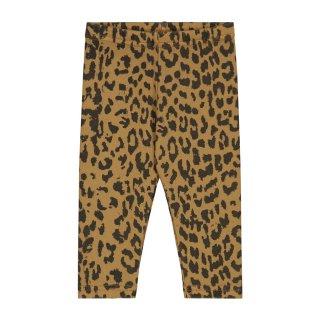 Leopard pants sandtone 6M-3Y