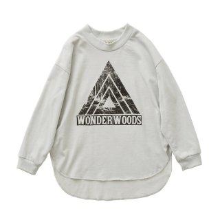 Wonder Woods LS tee ashwhite 100-130