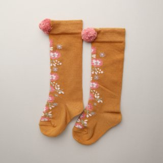 <img class='new_mark_img1' src='https://img.shop-pro.jp/img/new/icons1.gif' style='border:none;display:inline;margin:0px;padding:0px;width:auto;' />Chelie Socks Mustard 6M-6Y