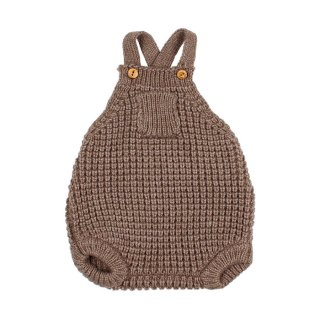 <img class='new_mark_img1' src='https://img.shop-pro.jp/img/new/icons1.gif' style='border:none;display:inline;margin:0px;padding:0px;width:auto;' />Baby soft knit romper wood 9-24M