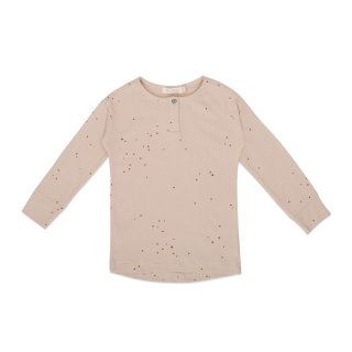 <img class='new_mark_img1' src='https://img.shop-pro.jp/img/new/icons1.gif' style='border:none;display:inline;margin:0px;padding:0px;width:auto;' />Rib henley top LS dots warm cream 6m-8Y