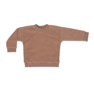 Teddy Baby Sweater creamy mocha 6m-18m
