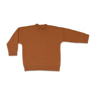 Baby sweater gingerbread 6m-18m